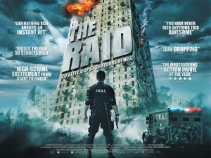 รีวิวหนังศิลปะการป้องกันตัว กับหนังเรื่อง the raid